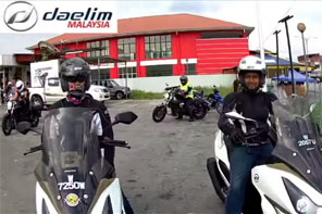 Daelim Club Malaysia Ride To Betong Thailand 2015