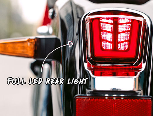 Key Features - Full LED Rear Light