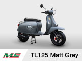 New Launch of Scomadi TL125 Matt Grey